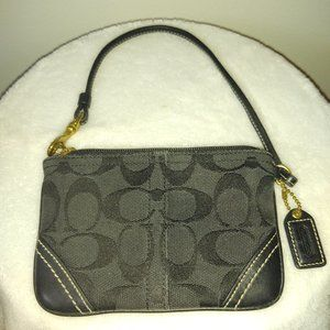 Coach Fabric and Leather Wallet